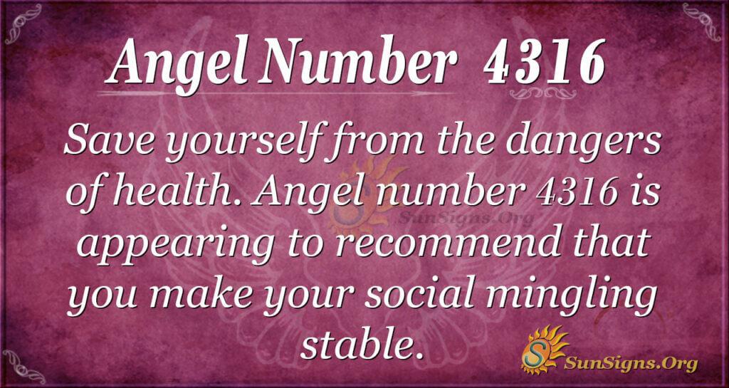 4316 angel number