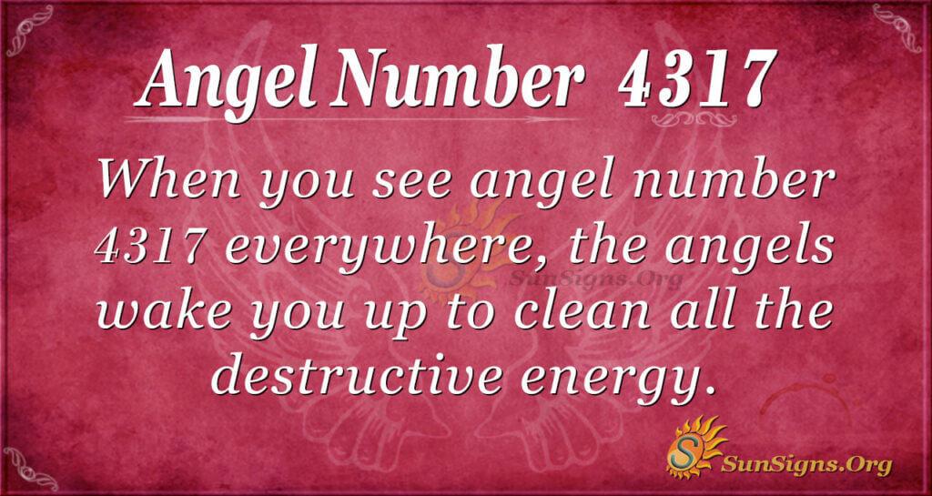 4317 angel number
