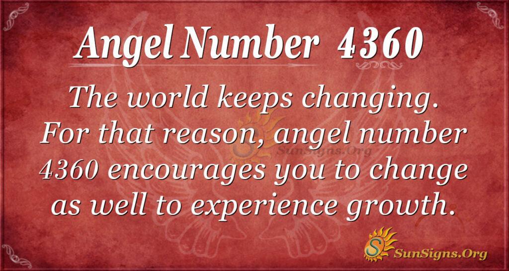 4360 angel number