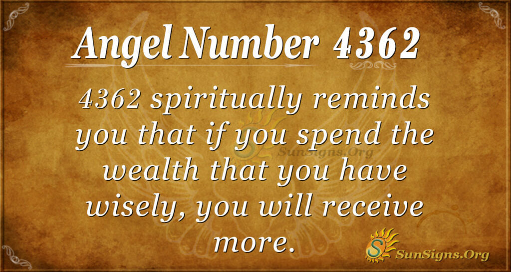 4362 angel number