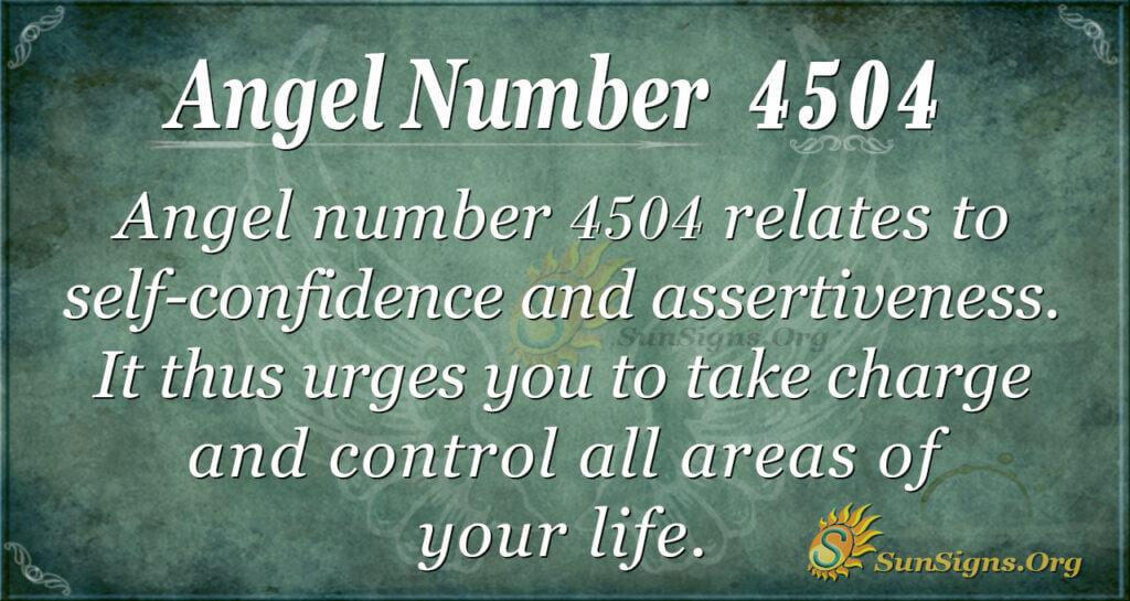 4504 angel number