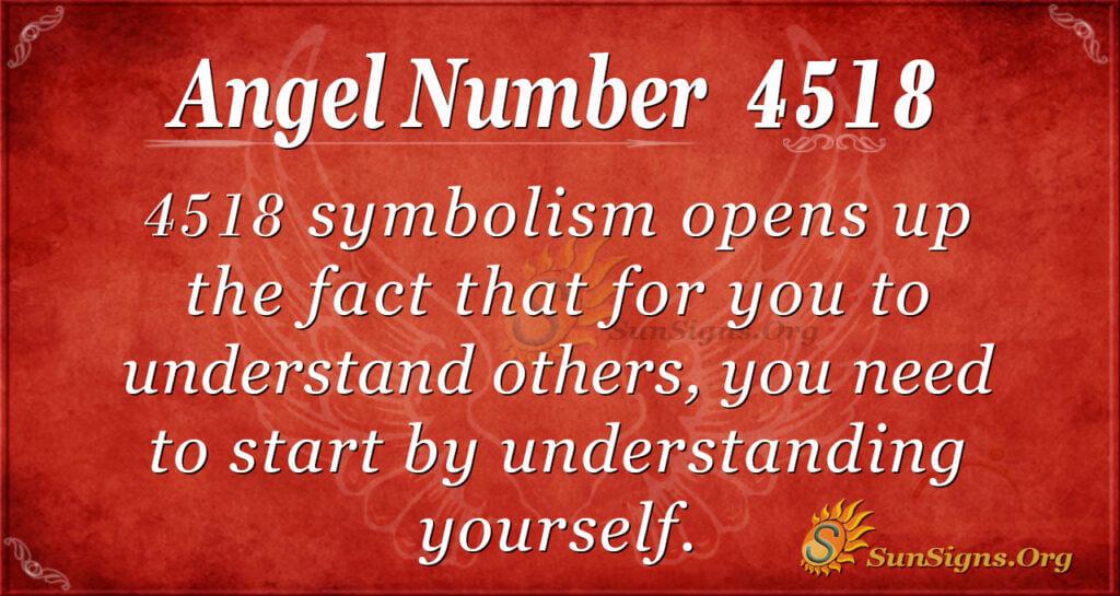4518 angel number
