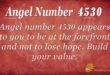 4530 angel number