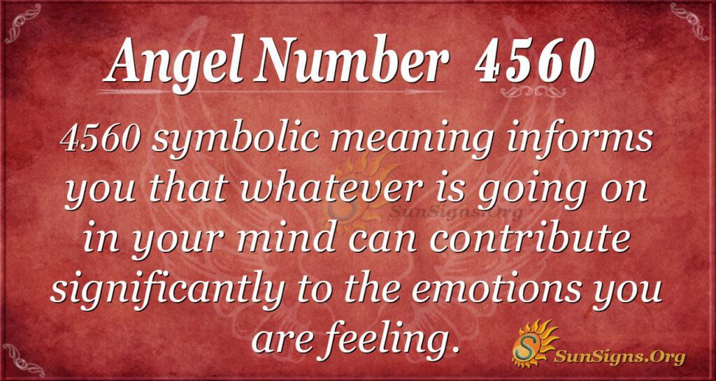 4560 angel number