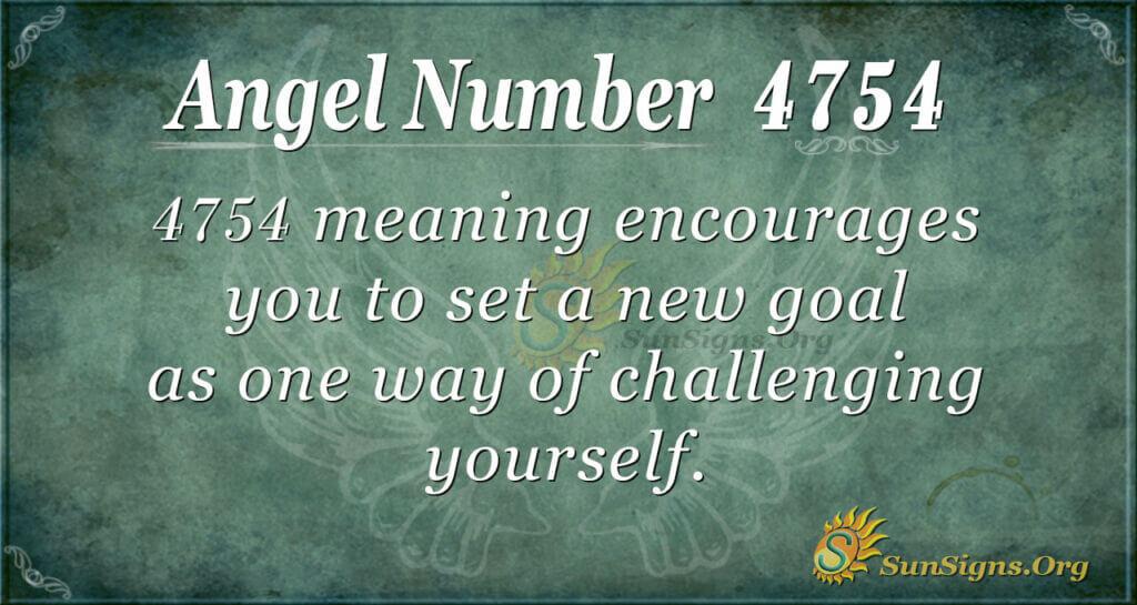 4754 angel number