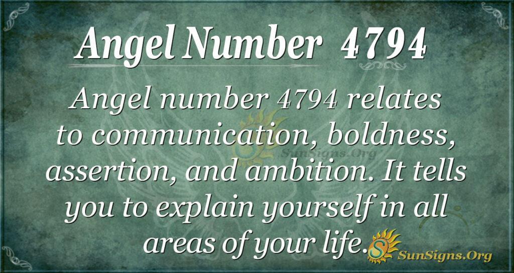 4794 angel number