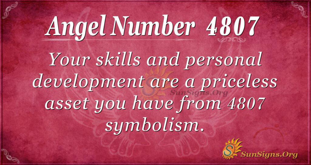 4807 angel number