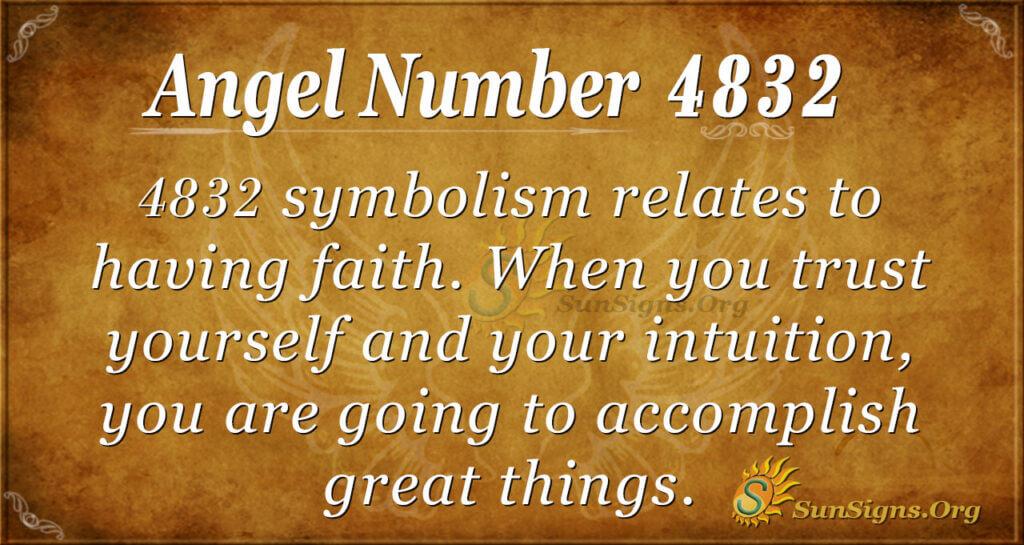 4832 angel number