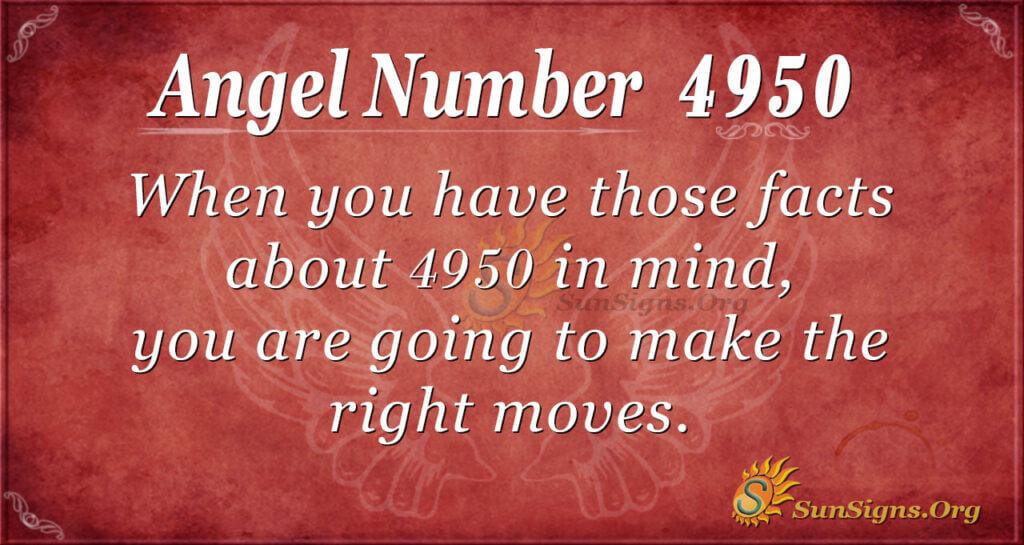 4950 angel number