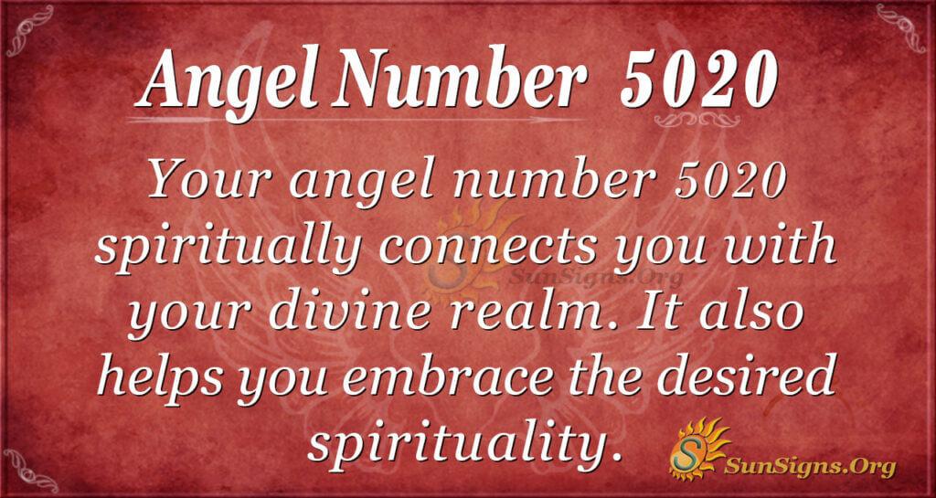 5020 angel number