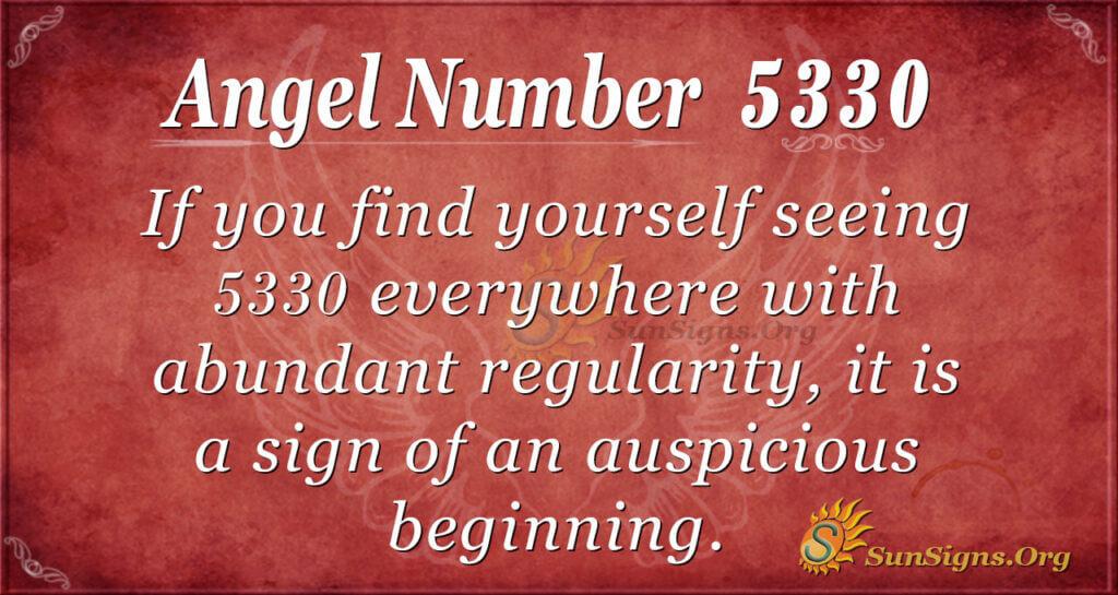 5330 angel number