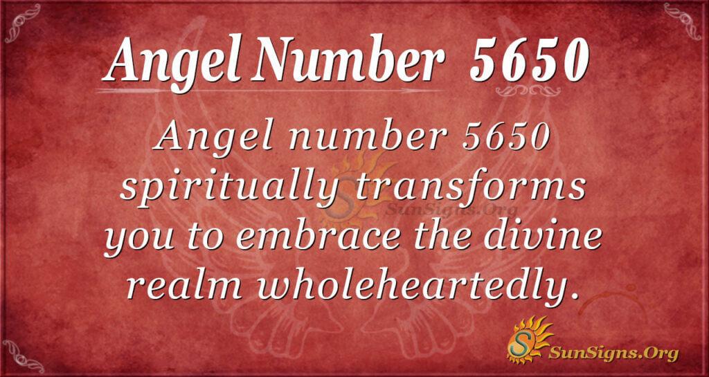 5650 angel number