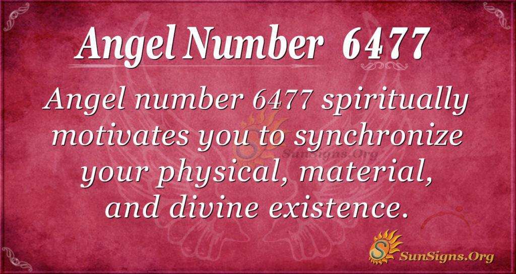 6477 angel number