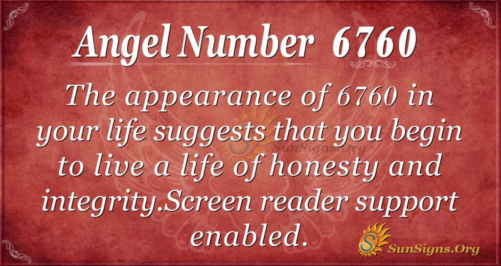 6760 angel number