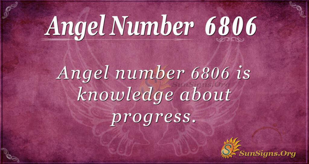 6806 angel number