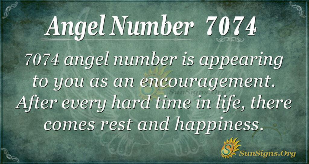 7074 angel number
