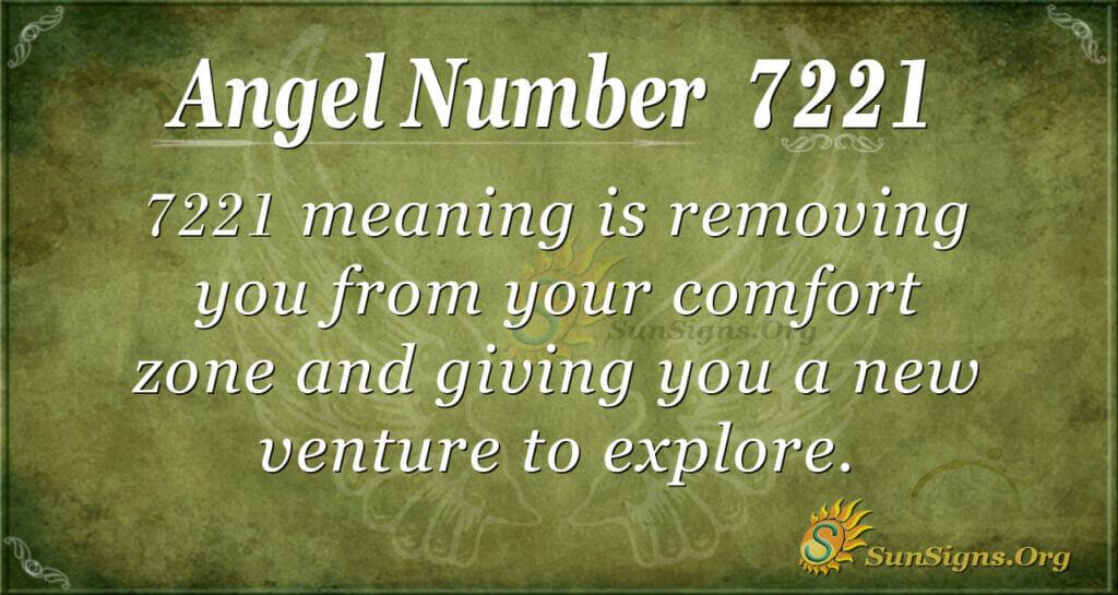 7221 angel number