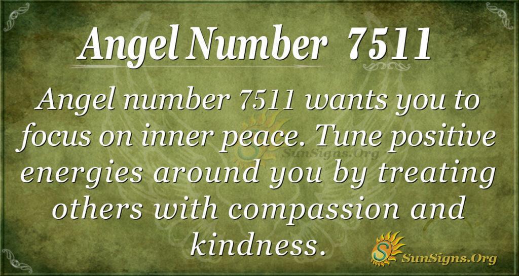 7511 angel number