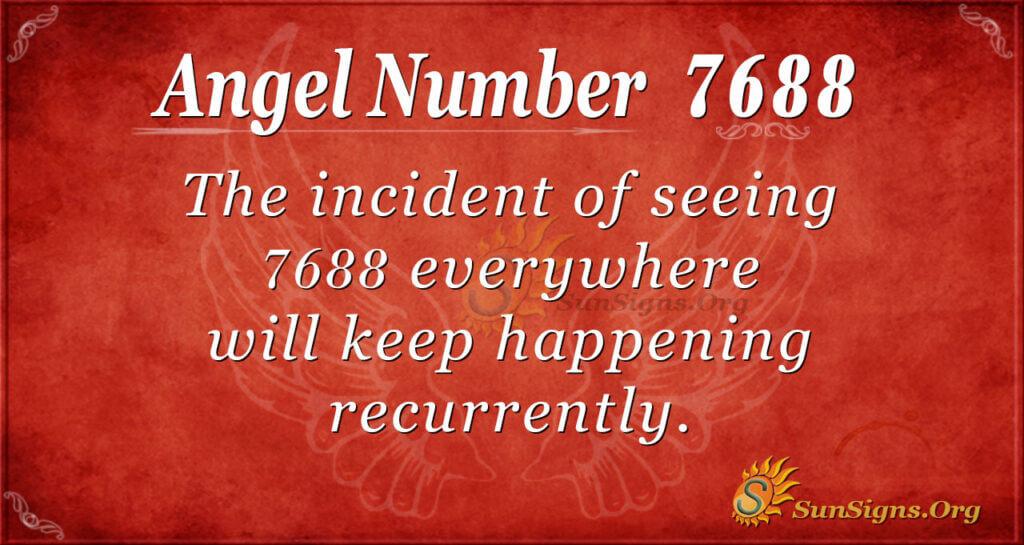 7688 angel number