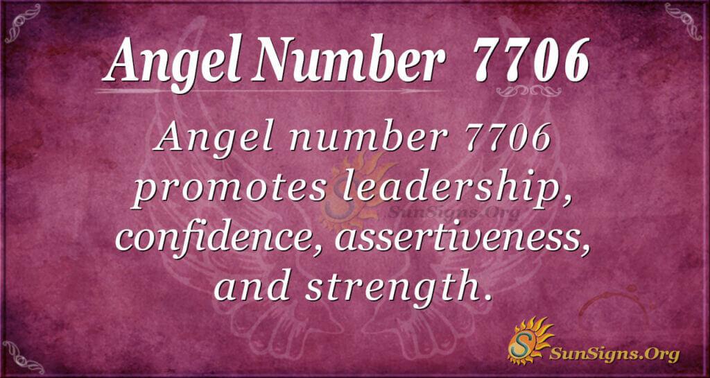 7706 angel number
