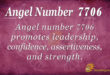 7706 angel number