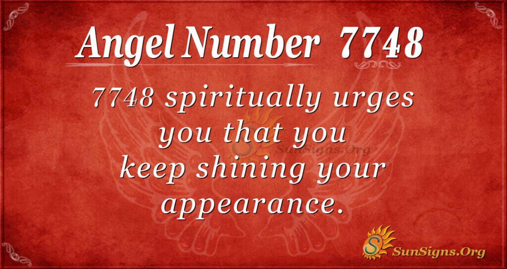 7748 angel number