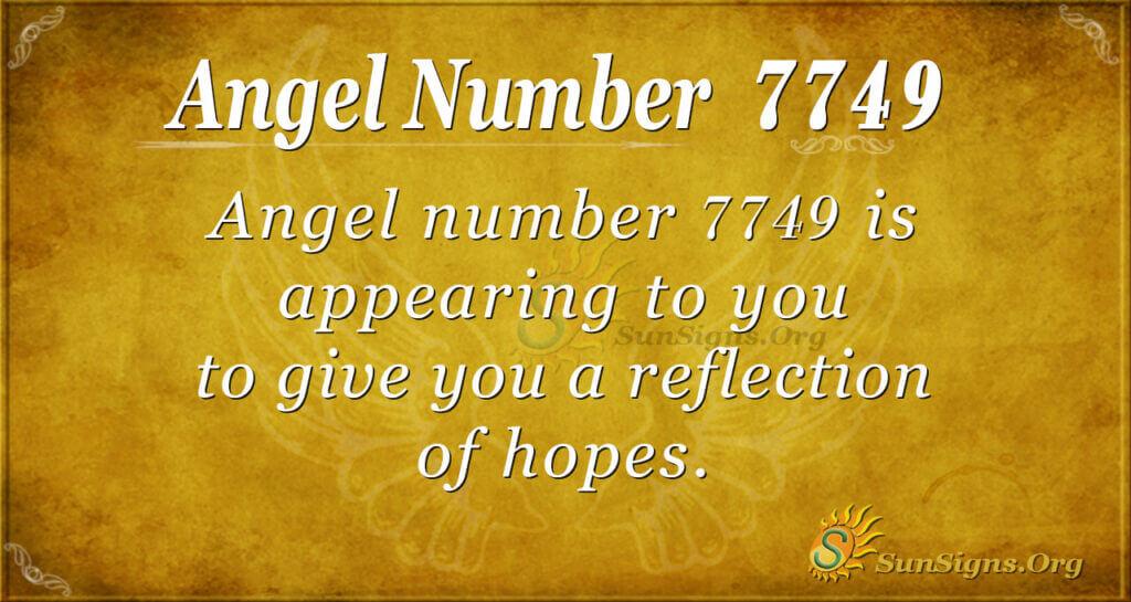 7749 angel number