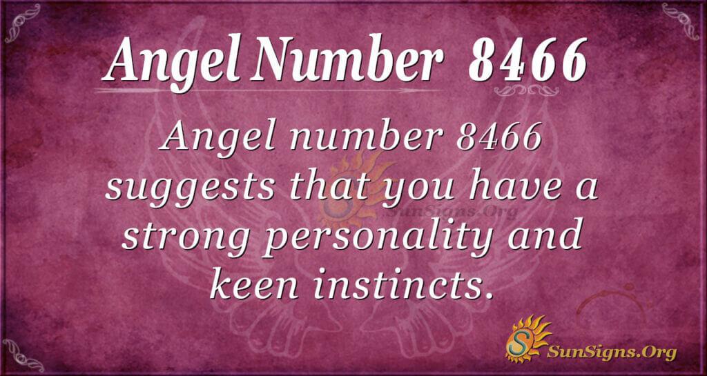 8466 angel number