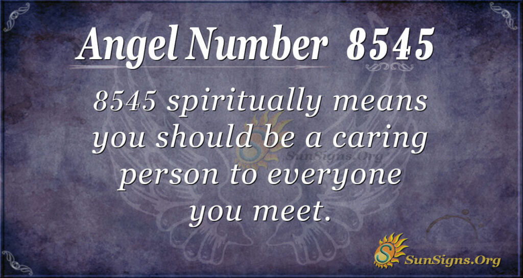 8545 angel number