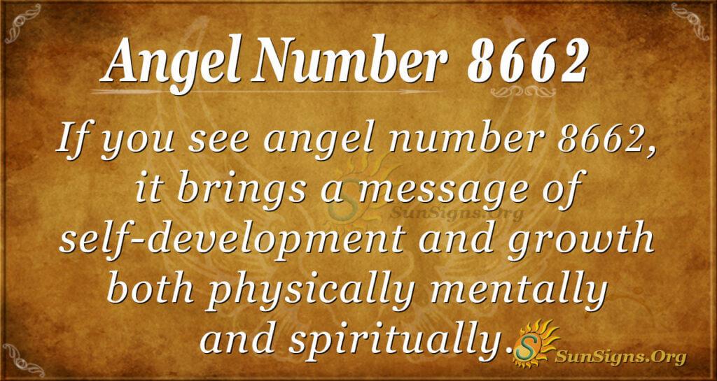 8662 angel number