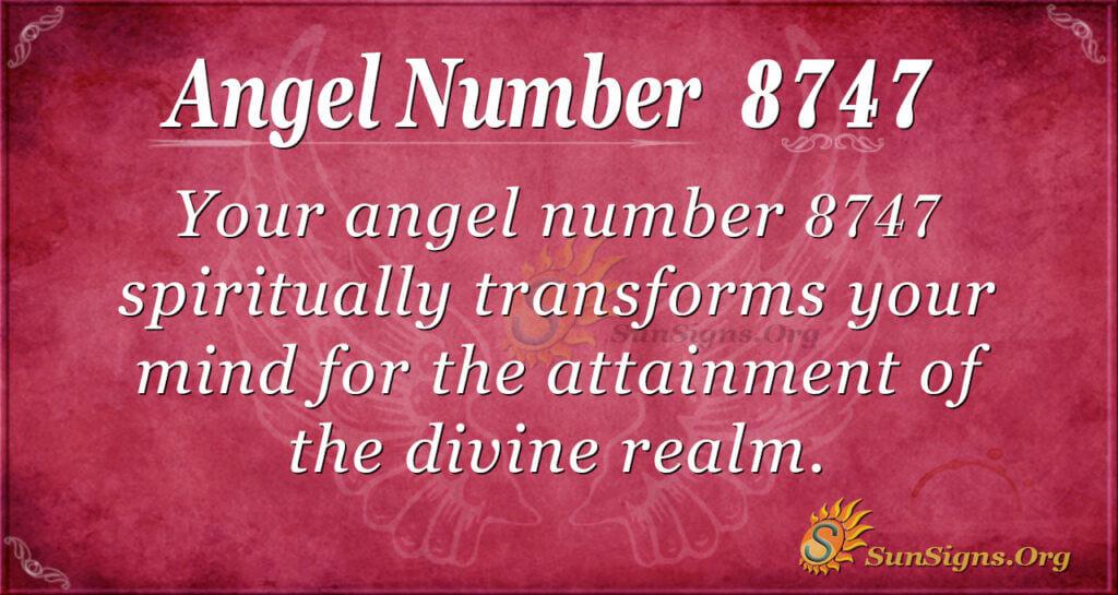 8747 angel number