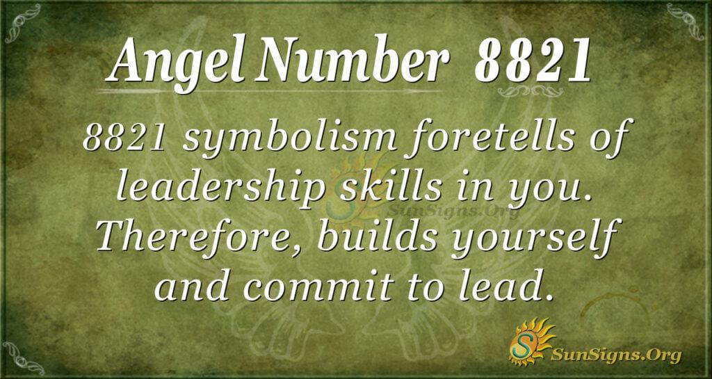 8821 angel number
