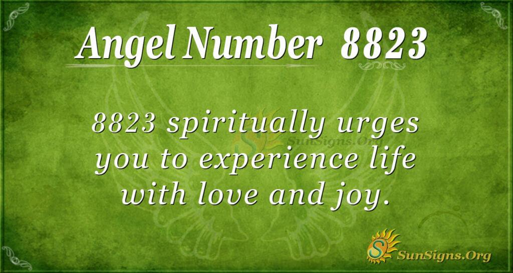 8823 angel number