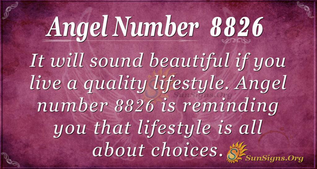 8826 angel number