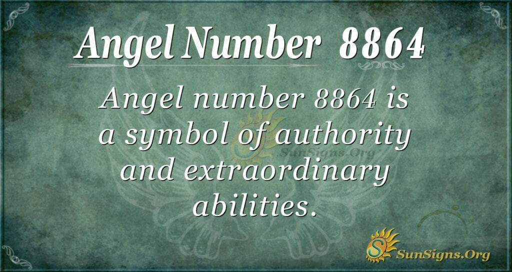 8864 angel number