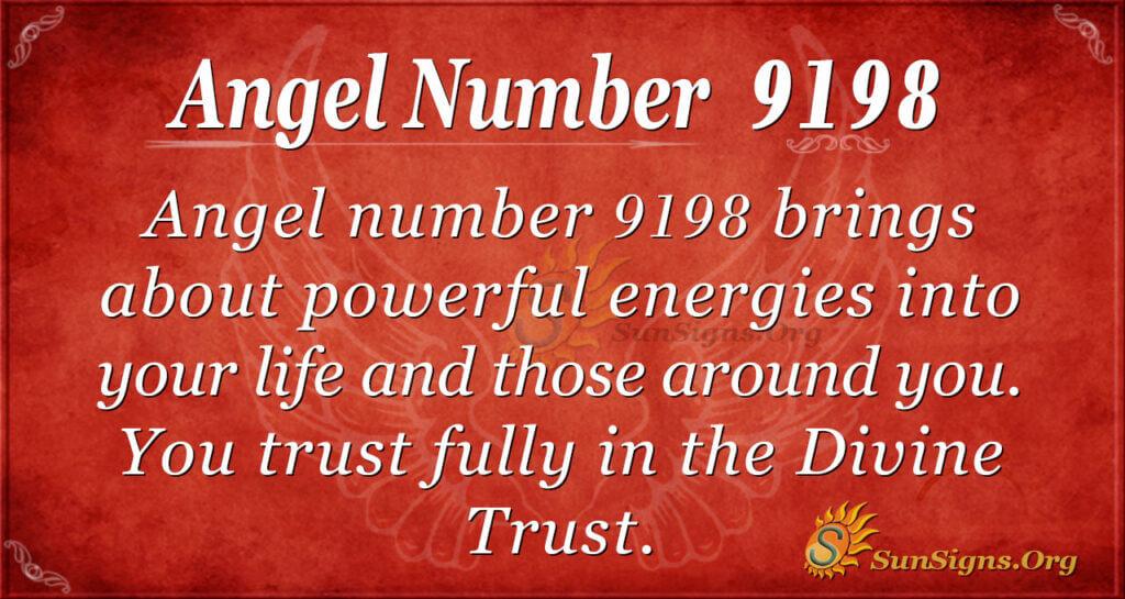 9198 angel number
