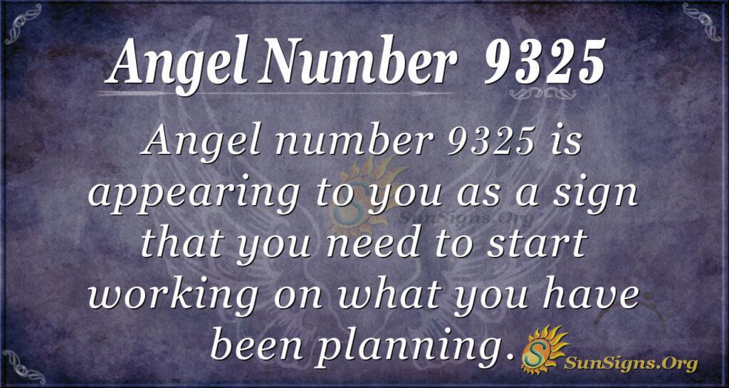 9325 angel number