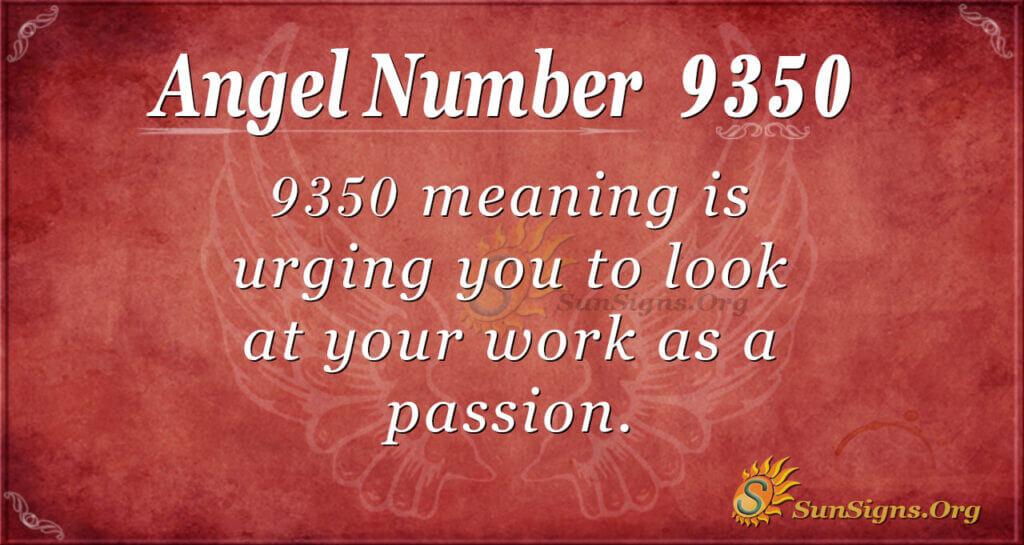 9350 angel number