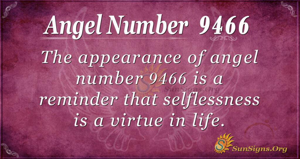 9466 angel number