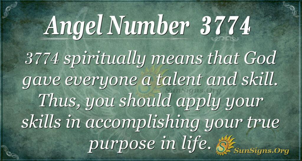 3774 angel number