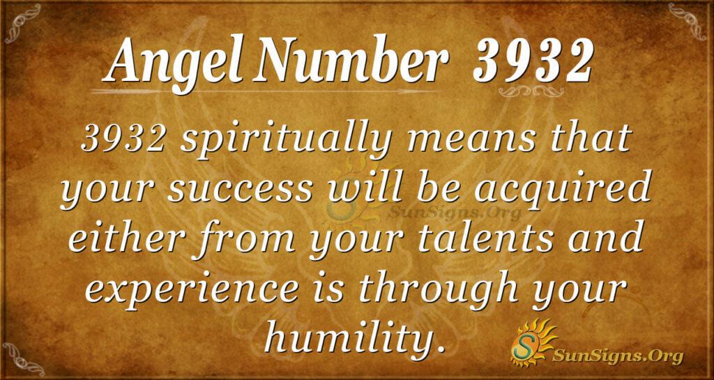 3932 angel number