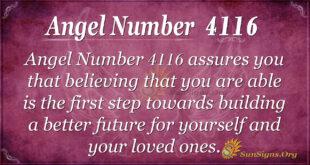 4116 angel number
