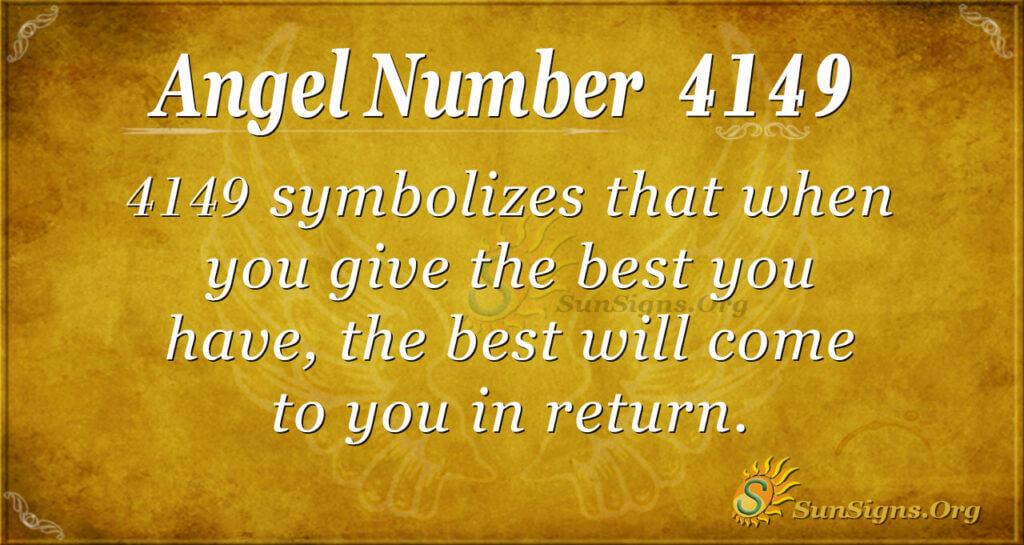 4149 angel number