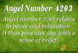 4203 angel number