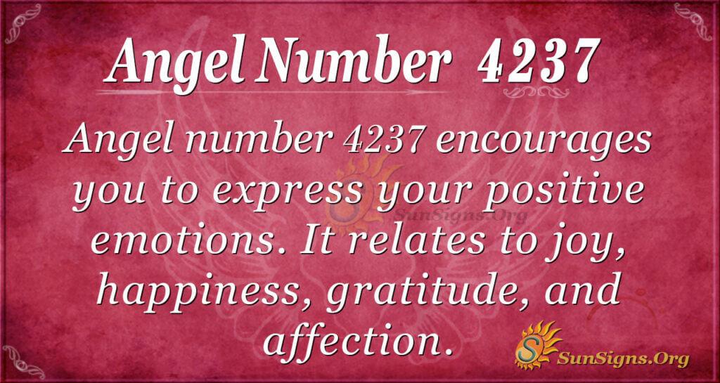 4237 angel number