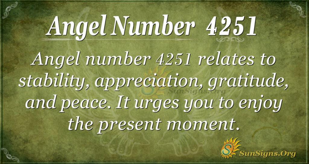 4251 angel number