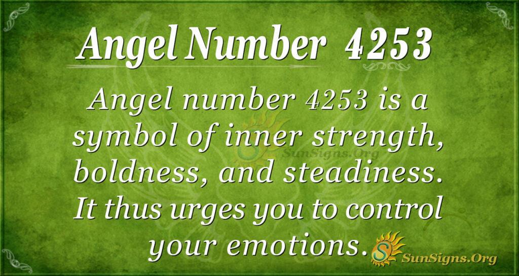 4253 angel number