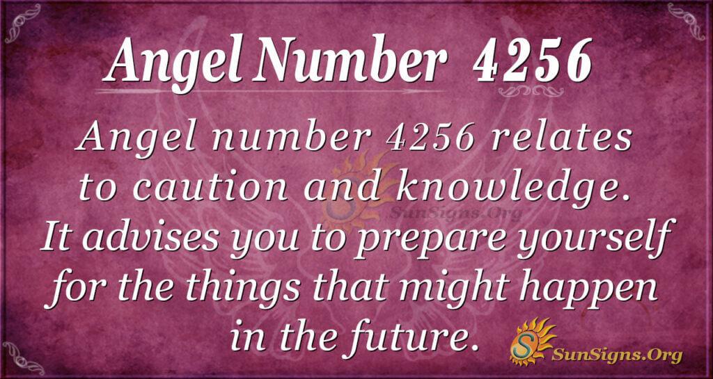 4256 angel number