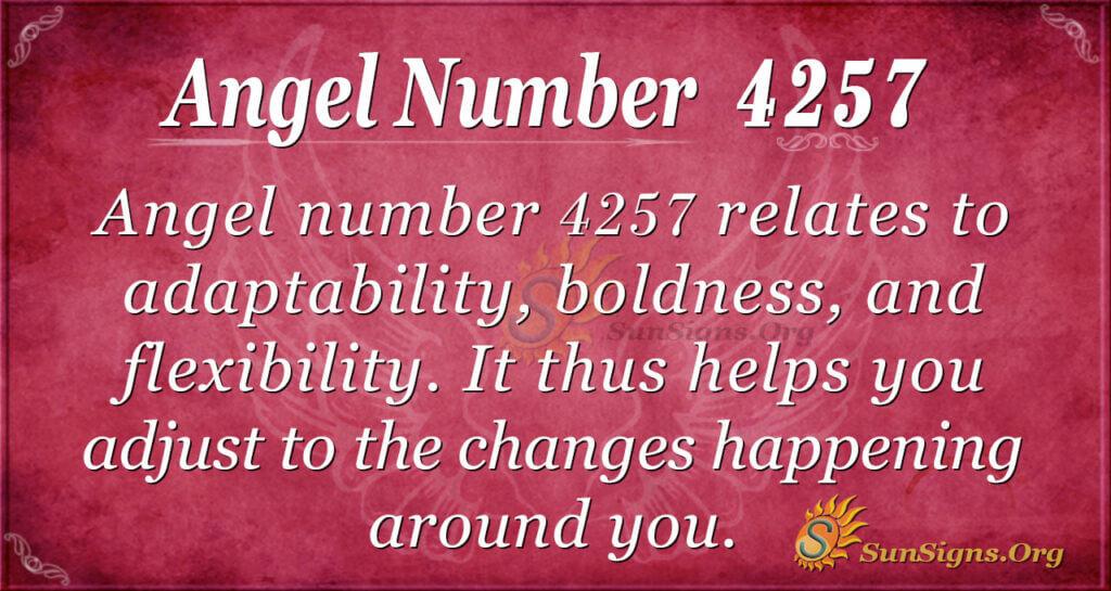 4257 angel number