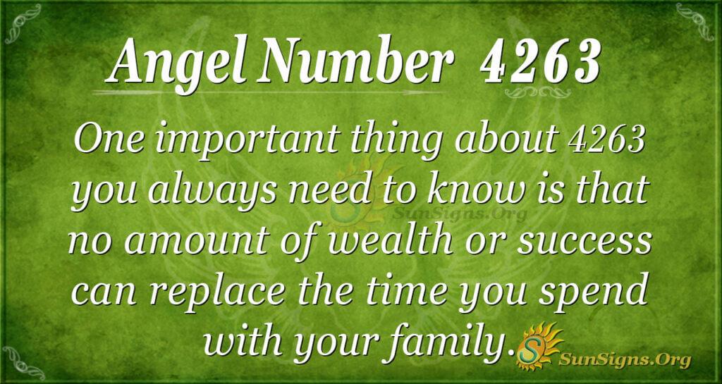 4263 angel number